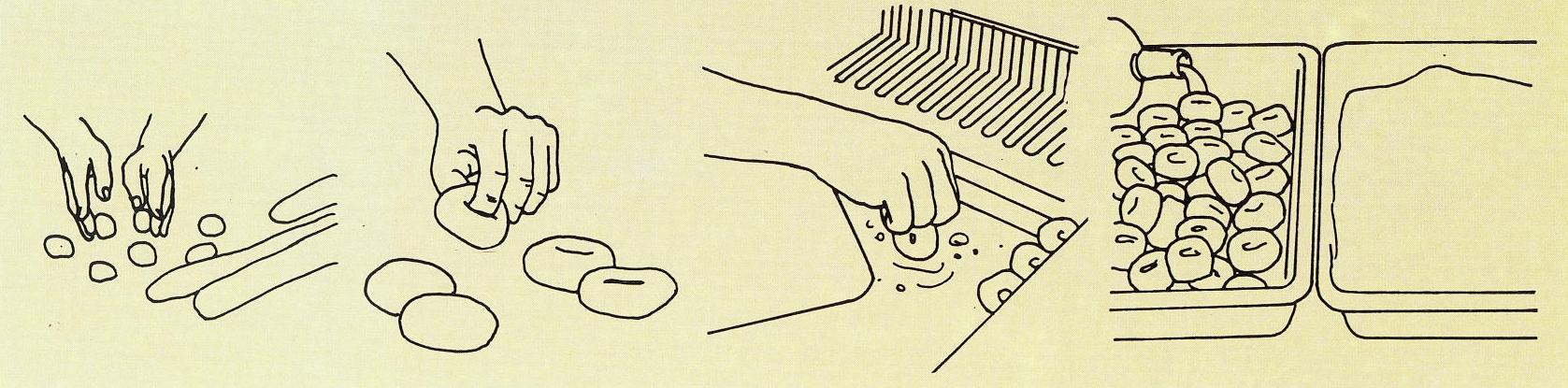 Buñuelos proceso